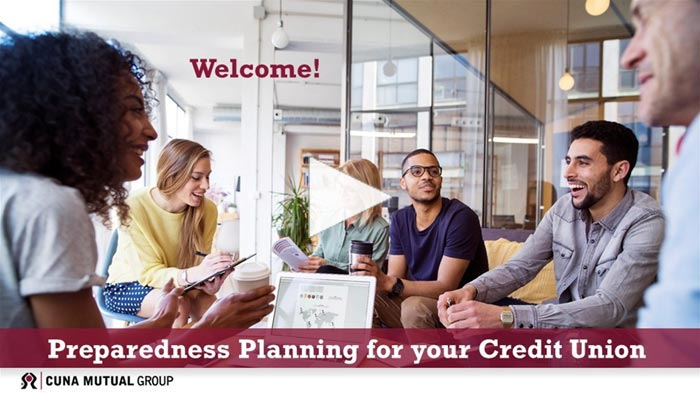 Preparedness Planning for your Credit Union