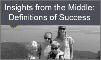 Insights from the Middle: Definitions of Success